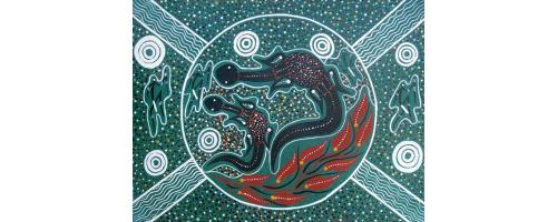 Goanna Dreaming - SOLD